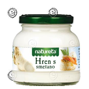 Horseradish with cream 180g