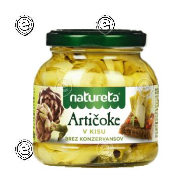 Artichokes in vinegar 290g