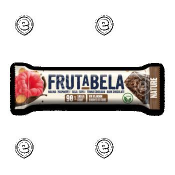 Energiabatoon suhkruvaba vaarika-soja-tumeda šokolaadi 35g Vegan