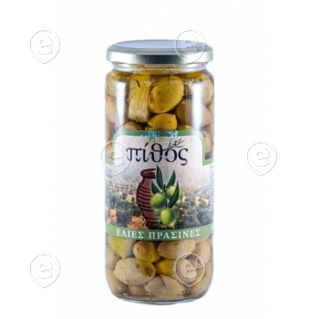 """Oliivid sidruniga """"TSAKISTES"""", Kalamata, klaaspurk 300g käsitöö"""