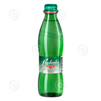 Radenska Classic 0,25L klaaspudelis