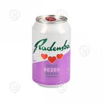 Mineralwater Radenska  Elderflower 0,33l can