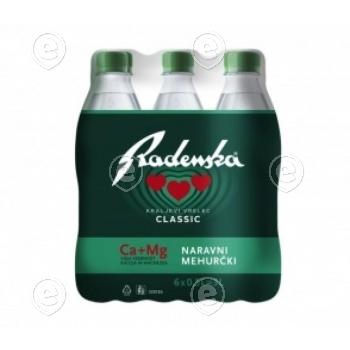 Mineralwater Radenska Classic 6x0,5L ( plastic)
