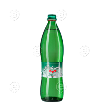 Mineraalvesi Radenska Classic 6x0,75L klaaspudelis