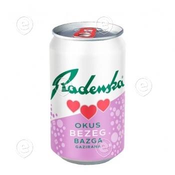 Mineralwater Radenska  Elderflower 24x0,33l can