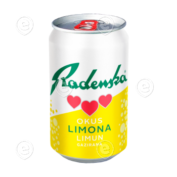 24xMineralwater Radenska Lemon 0,5l