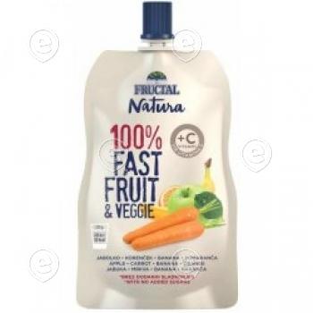 "Energiageel "" 100% Fast fruit & Veggie"" + C vitamiin 110g"