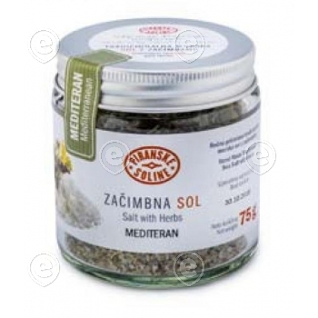 Salt with Mediterranean Herbs 75g