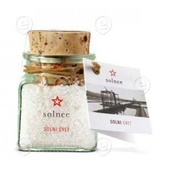 Piran Fleur de Sel in glass jar 70g