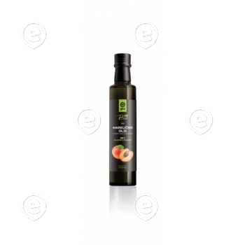 100 % cold pressed apricot kernel oil, organically produced