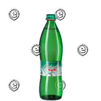 Radenska Classic 0,75L klaaspudelis