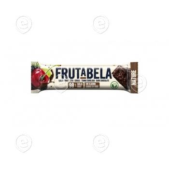 Energiabatoon suhkruvaba tumeda šokolaadi ja puuviljadega 35g Vegan