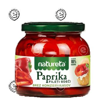Red pepper fillets 540 G