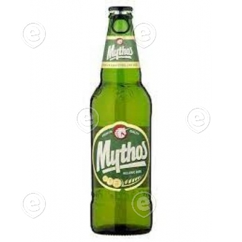 Kreeka õlu Mythos 4,7% 500ml klaaspudelis