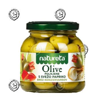 Oliivid punase paprikaga 290g