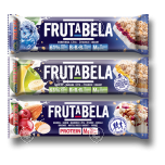 Frutabela energy bar with almond-cranberry-Mg 44g