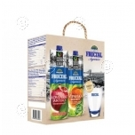 Fructal gift pack 2xjuices + glass