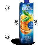 100% apelsinimahl koos viljalihaga 1L