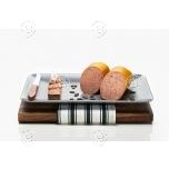 Kõrvitsaseemnetega ja röstitud sibulatega maksapasteet 150g