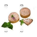 Pâtés, three different flavors 3x50g