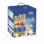 Fructal gift pack 2xjuices + candle