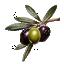 Oliivide segu Kalamata Florina pipraga 300g klaaspurk